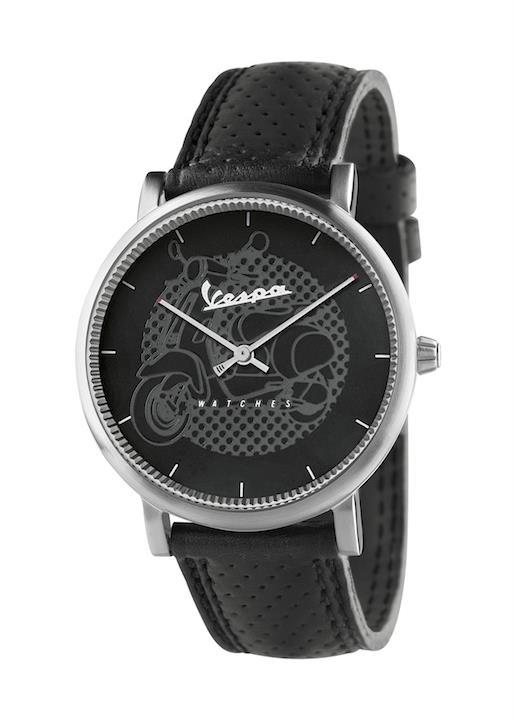 VESPA Gents Wrist Watch Model CLASSY VA-CL01-SS-23BK-CP