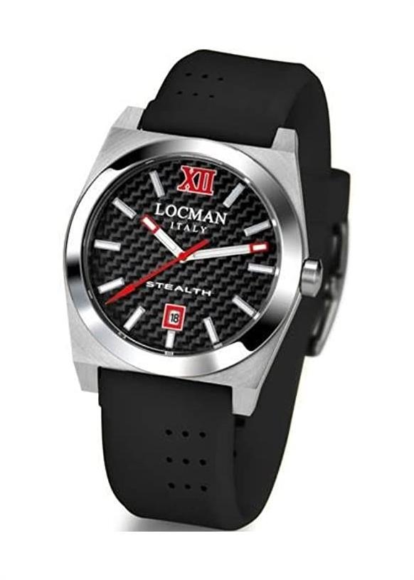 LOCMAN Ladies Wrist Watch Model STEALTH 020300CBFRD0SIK