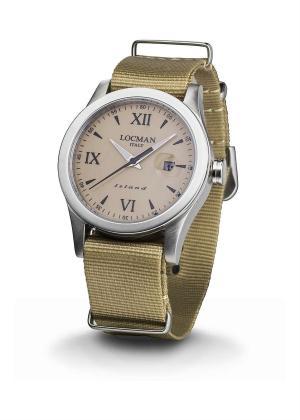 LOCMAN Gents Wrist Watch Model ISLAND 0614A04-00SABKNH