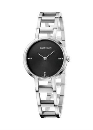 CK CALVIN KLEIN Ladies Wrist Watch Model CHEERS - 9 Diamonds K8N2314S