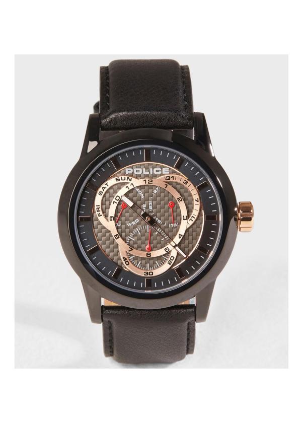POLICE Mens Wrist Watch Model Vancouver PL.15243JSB/02