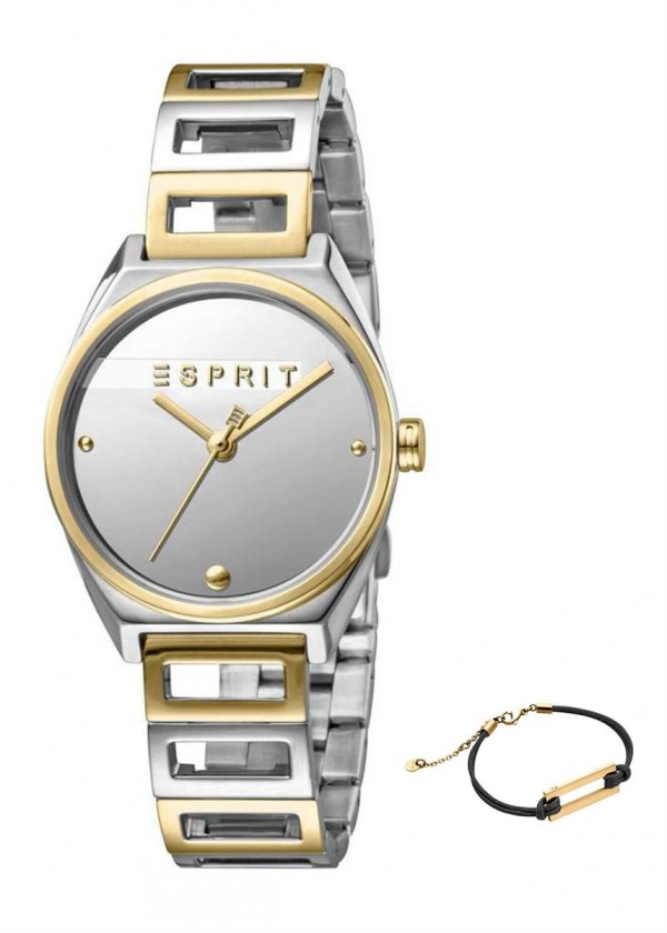 ESPRIT Womens Wrist Watch Model Gift Set Bracelet ES1L058M0045