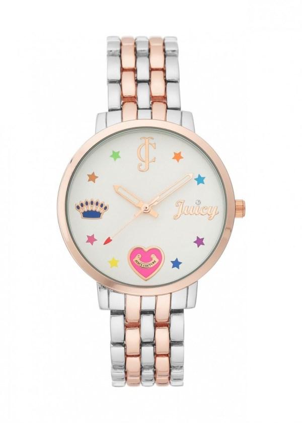 JUICY COUTURE Womens Wrist Watch JC/1108SVRT
