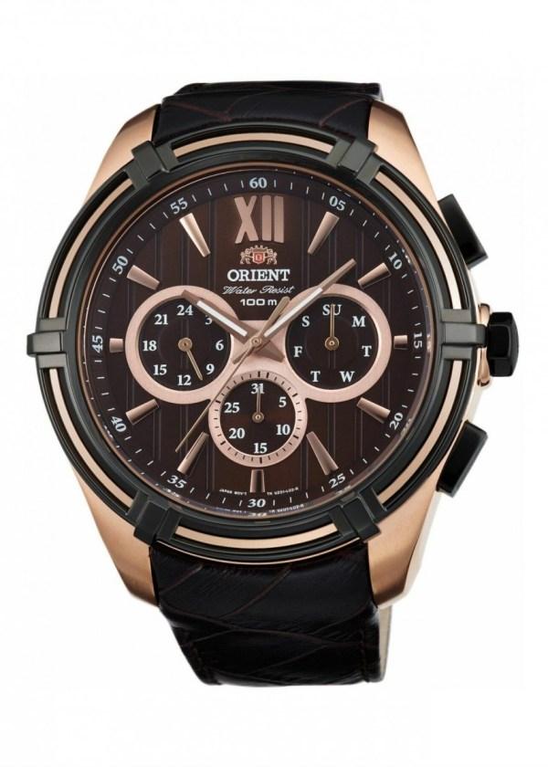 ORIENT Mens Wrist Watch FUZ01005T0