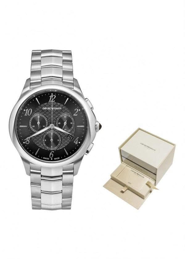 EMPORIO ARMANI SWISS MADE Gents Wrist Watch ARS8700