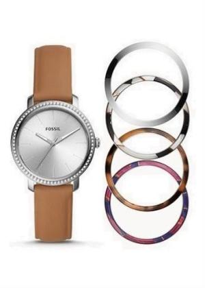 FOSSIL Ladies Wrist Watch Model LEXIE Special Pack + 4 Extra Bezel BQ3570SET