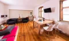 Die preiswerte Wohnung für große Familien bis maximal fünf Personen (Erdgeschoss)