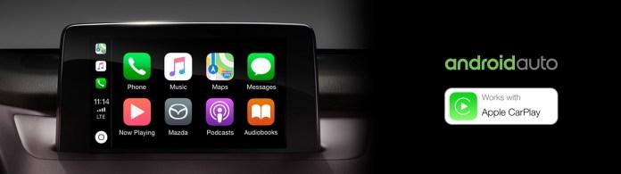 Android Auto Apple Car Play Angevaare Mazda Peterborough Mazda