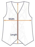 AngicoVest vest size