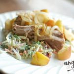 Instant Pot Recipe: Apple-Bacon Smothered Pork Loin