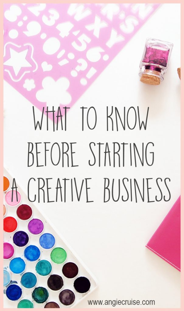 What to Know Before Starting a Creative Business