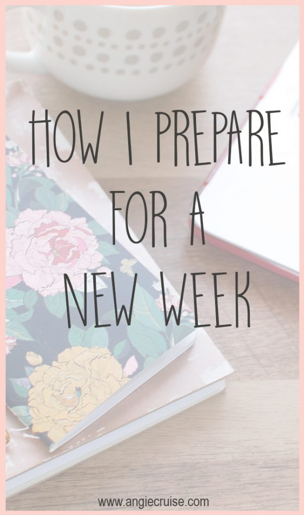 By implementing this list of tasks on weekends, I wake up Monday morning one step ahead. Are you ready to prepare for a new week?