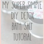 My Super Simple DIY Bath Salts