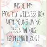My September Monthly Wellness Box from Young Living