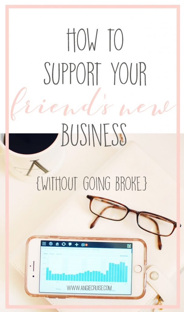 If you don't already own a business, it can be hard to know how to be supportive outside of buying things. The good news is, there are several ways to support your friend's new business without going broke. I've got 5 of them for you today, and surprise! Only one of them involves spending any money! #onlinebusiness #wahm #workfromhome