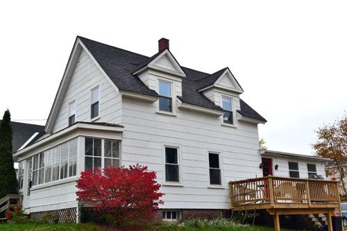 Freshly Shingled House