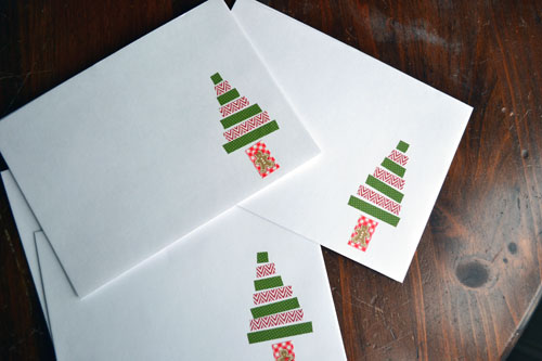 washi tape ideas decorate white envelopes with washi angie s roost 12622