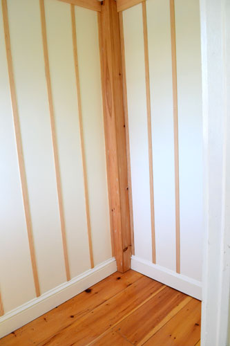 Installed Board & Batten In Entry