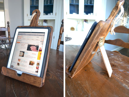 Kitchen iPad Stand - Angie\'s Roost
