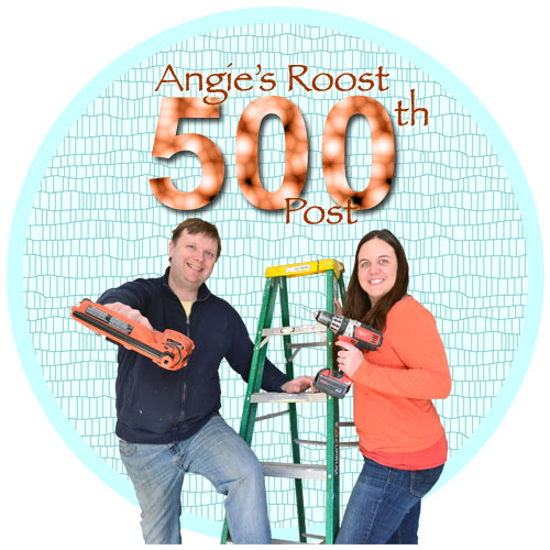 Angie's Roost 500th Blog Post