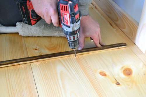 Drilling Pilot Holes For Cut Nails