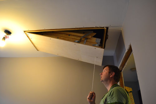 How To Install Attic Stairs