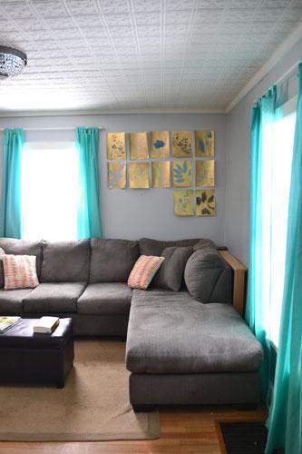 Sad Artless Living Room