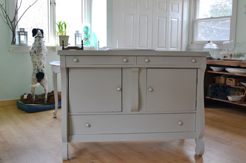 Bathroom Vanity Painted In Benjamin Moore Gray Owl Angie