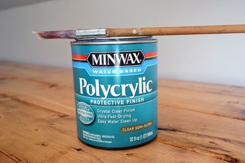 Image result for minwax water based poly