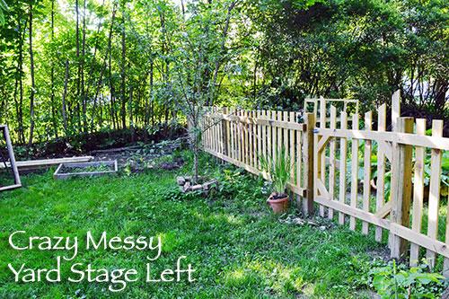 Fence Left Side