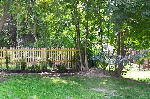 Planted Shade Garden