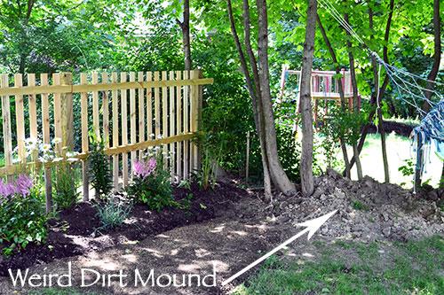 Weird Dirt Mound
