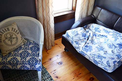 Goose Bed Fabric Matches The Chair Fabric