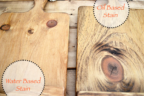 Water Based Vs Oil Based Stain Angie S Roost