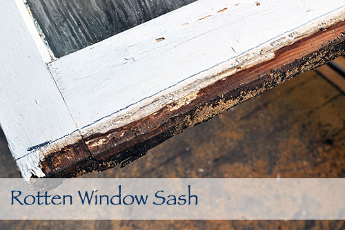 Porch Problem 9 Rotten Window Sash