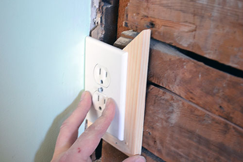 Framing Out Outlet