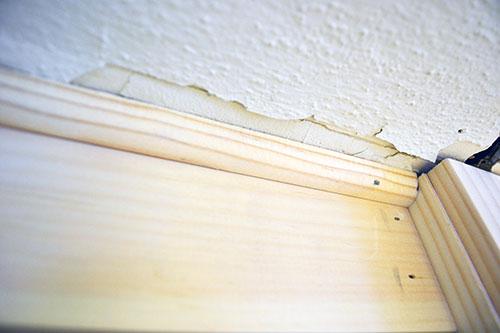 Quarter Round Trim To Hide Ceiling Gap