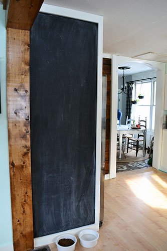 Seasoning Chalkboard Paint Wall