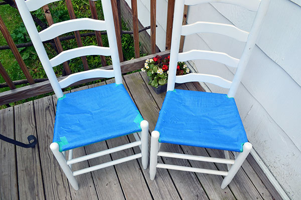 Taping Dining Room Chairs