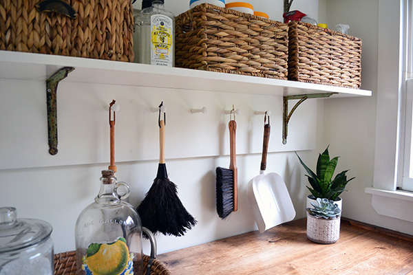 Building Laundry Room Shelving