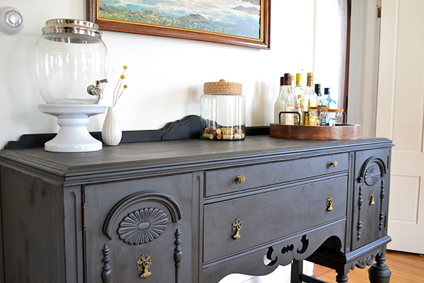 Refinishing An Antique Buffet Using Annie Sloan Chalk