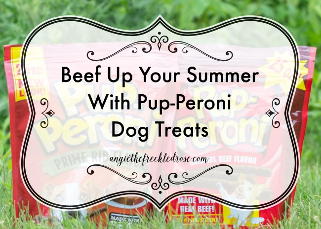 Beef Up Your Summer With Pup-Peroni Dog Treats | angiethefreckledrose.com
