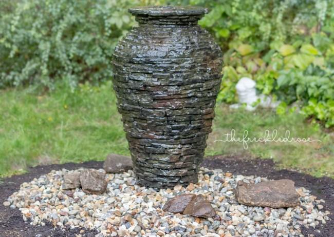 Aquascape Stacked Slate Urn | angiethefreckledrose.com