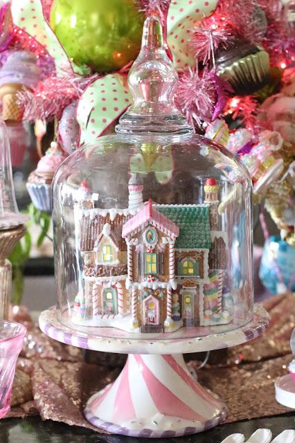 Christmas Tea with Grandma - Purple Chocolate Home