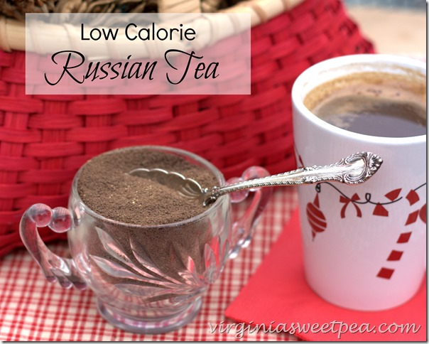 Low Calorie Russian Tea - Sweet Pea