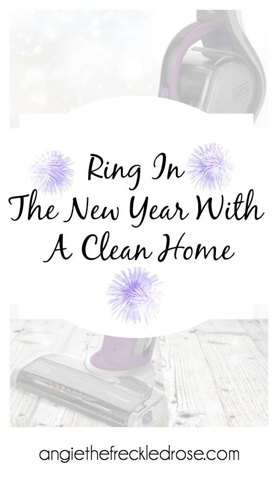 Ring In The New Year With A Clean Home | angietehefreckledrose.com