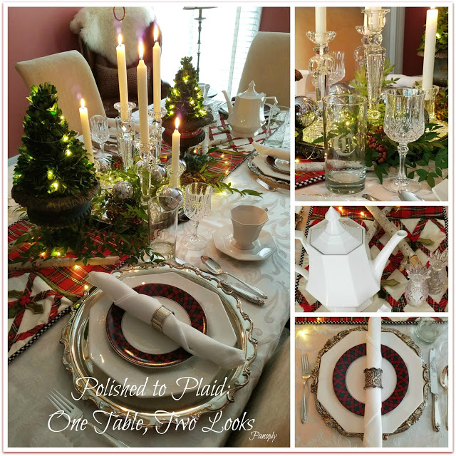 Polished To Plaid: One Table, Two Looks - Panoply
