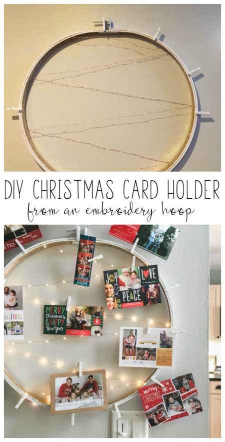 DIY Christmas Card Holder - Refresh Living