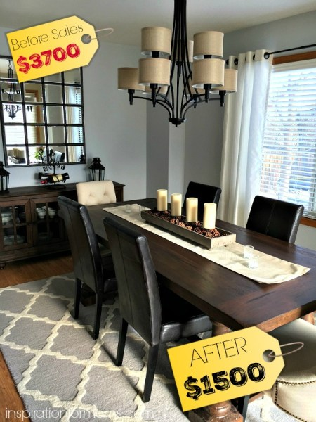 Dining Room Makeover - Inspiration For Moms