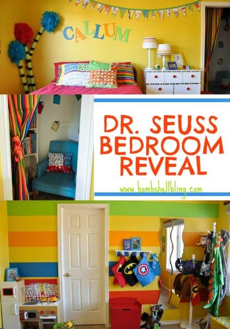 Dr. Seuss Bedroom – Bombshell Bling